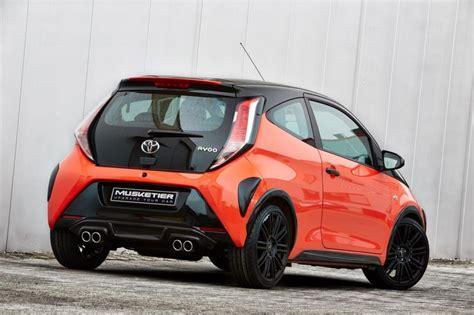 Toyota Aygo Custom Toyota Aygo Receives Exhaust Looks Ready To Kick