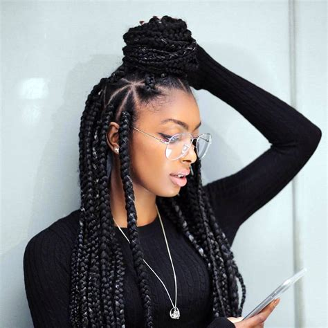 different hairstyles for box braids cool 60 superlative ideas for box braids styles the