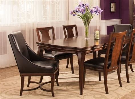 raymour and flanigan dining room set belanie 7 pc dining set transitional dining room