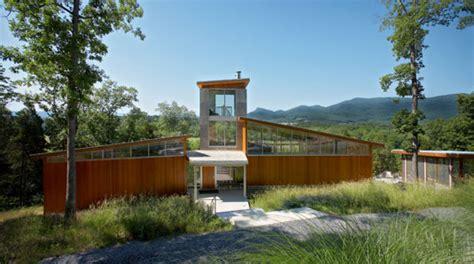 retreat houses modern retreat on virginia s shenandoah river modern