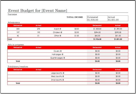 conference budget template event budget worksheet driverlayer search engine