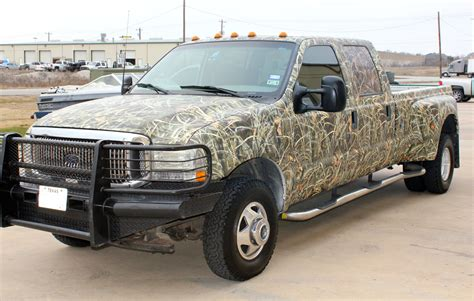hunting truck for max 4 camo wrap for trucks progress texas