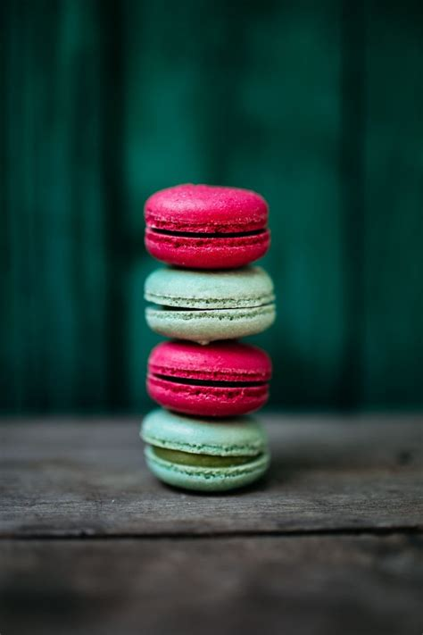 colorful macaroons colorful macarons tower food pictures foodiesfeed