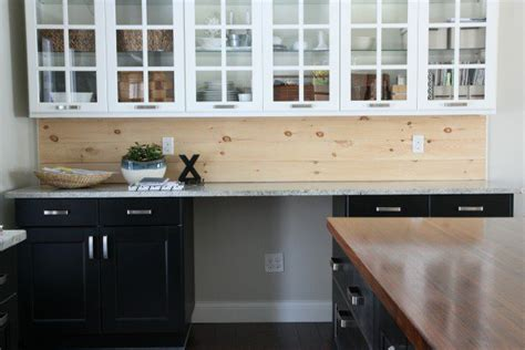 wood backsplash kitchen 30 unique and inexpensive diy kitchen backsplash ideas you