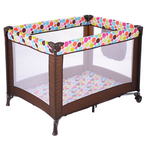 pack n play toddler bed foldable pack n play playard baby bassinet travel portable