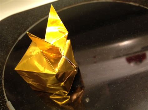 Golden Snitch Origami - origami golden snitch origami yoda