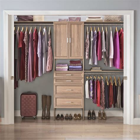 Closet R by Closetmaid Suitesymphony 84 Quot W 120 Quot W Closet System