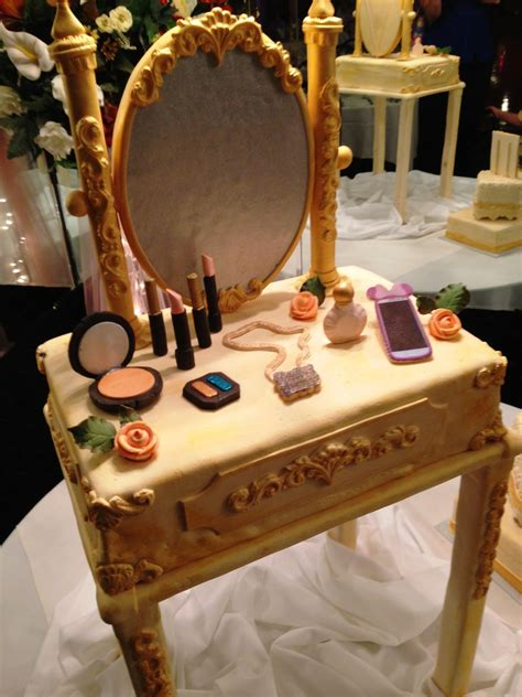 vintage inspired vanity table birthday cake cakecentral