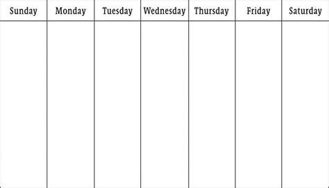 printable 7 day calendar printable online calendar