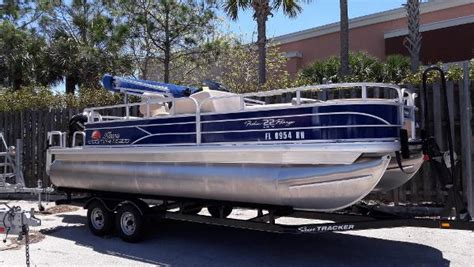 fishing boats for sale fort myers florida tracker fishin barge 22 dlx boats for sale in fort myers