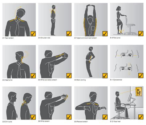 Office Desk Exercises Sneak In These Simple Exercises At The Office To Stay Healthy Lifehacker Australia