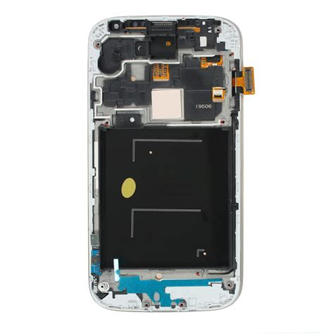Sparepart Galaxy S4 complete screen assembly black lcd touchscreen frame
