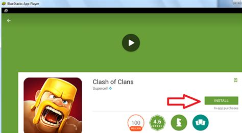 Play Store On Windows 10 Clash Of Clans For Pc Laptop Windows 10 8 1 8