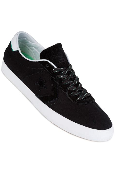 Converse Original Breakpoint Pro Ox converse breakpoint pro ox shoes black white green glow