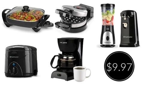 Walmart Small Kitchen Appliances by Small Kitchen Appliances Only 9 97 Free Shipping