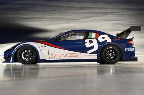 Maserati Race Car by 2013 Maserati Granturismo Mc Trofeo Race Car Revealed