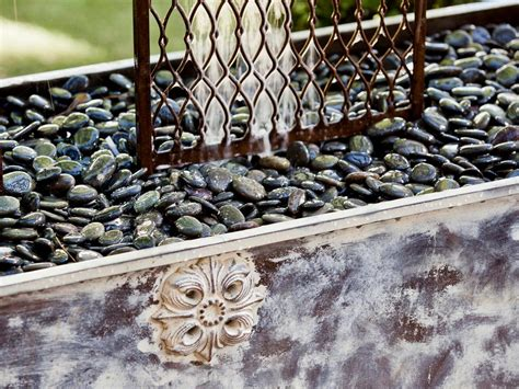 Diy Yard Crashers Sweepstakes - yard crashers trellis waterfall with rock base offering tranquility with the peaceful