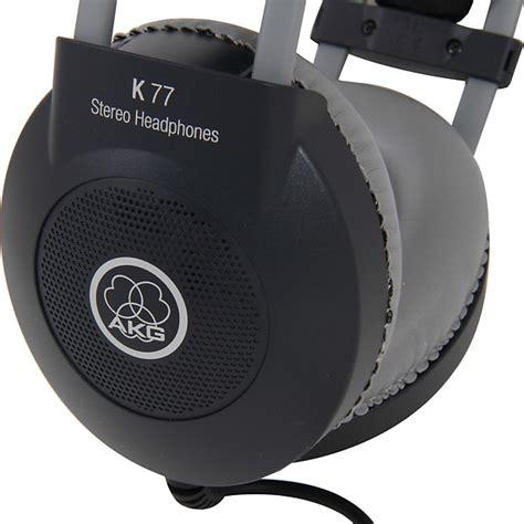 Headphone Akg K 77 akg pro k77 professional studio closed back size reverb