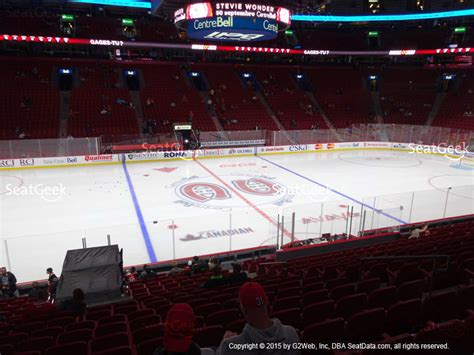 section 113 bell center bell centre section 114 seat views seatgeek