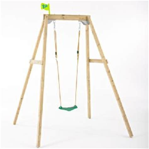 single wooden swing frame tp new forest single wooden swing frame buy toys from