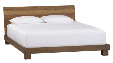 bed image dondra teak bed cb2