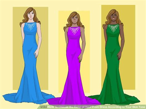 prom colors 4 ways to choose the color of your prom dress according to
