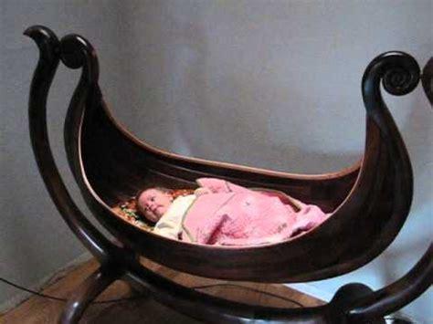 viking longboat baby crib an enchanted cradle youtube