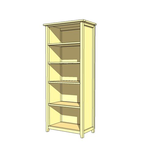 woodwork build your own bookcase plans pdf plans