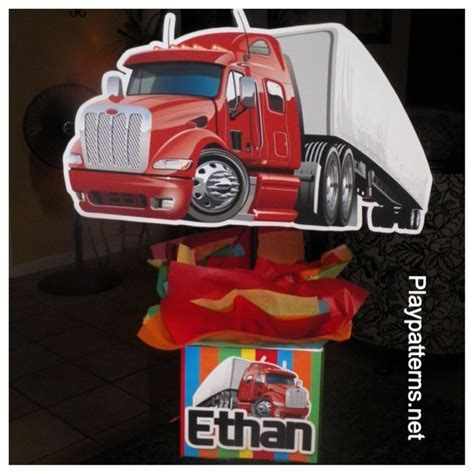 26 best Semi Truck Themed Birthday images on Pinterest   Birthday ideas, 4th birthday and Semi