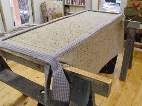 how to frame a rug punch hooking a rug primitivespirit