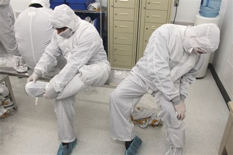 Clean Room Bunny Suit by The From Flcc Flcc Cleanroom Operator