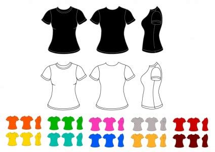Ringer Kaos Cewek Tshirt Edition 1 front view free vectors on ifreepic