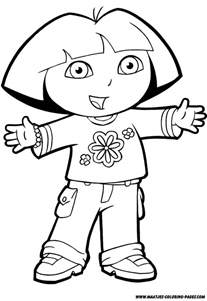Dora The Explorer Coloring Pages Coloring Pages Free The Explorer Coloring Pages