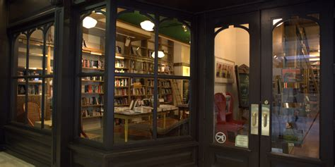 used shop front doors circle bookstore