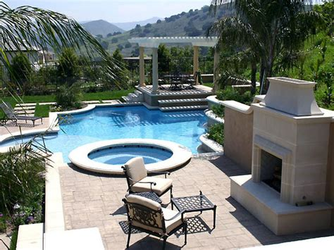 pool landscaping ideas hgtv water features for any budget landscaping ideas and
