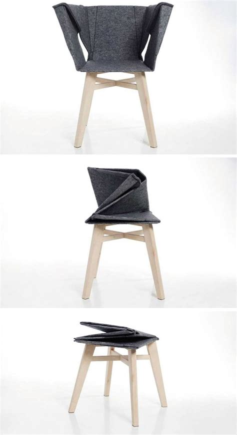 Paper Folding Chair - a different folded chair sneak peek and ideas for sp