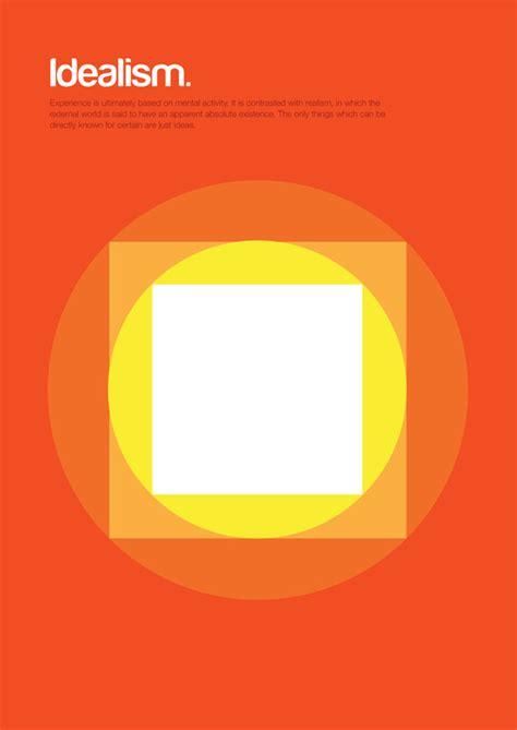 minimalist graphic design minimalism complex philosophical theories through basic shapes