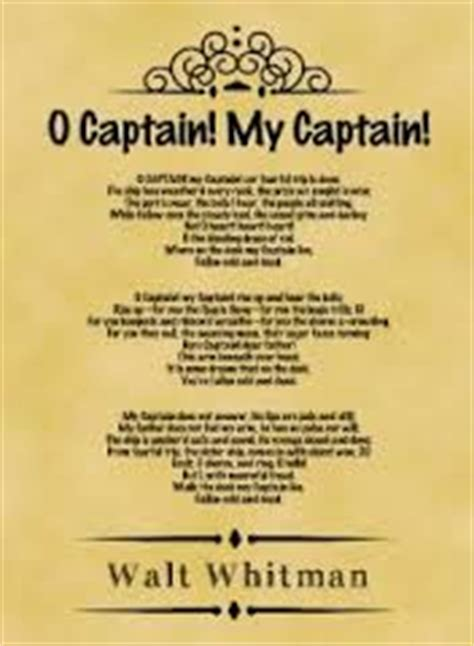 O Captain My Captain Essay by College Essays College Application Essays O Captain My Captain Essay