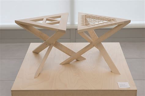 Continuous Stool by Continuous Triangle Stool On Student Show