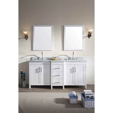 73 Inch Bathroom Countertop by Ariel Hollandale 73 Quot Sink Vanity Set With