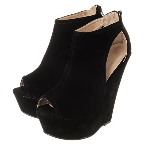 high heel wedge shoes high heel platform open toe wedge miss from miss