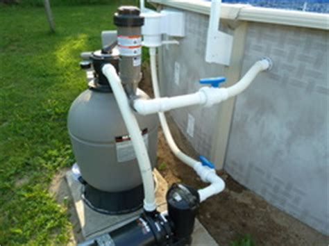How To Plumb Above Ground Pool by Above Ground Pools Knapp S Pools And Tubs Inc