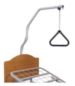 trapeze for bed liberty full electric hospital bed grid std gen 7