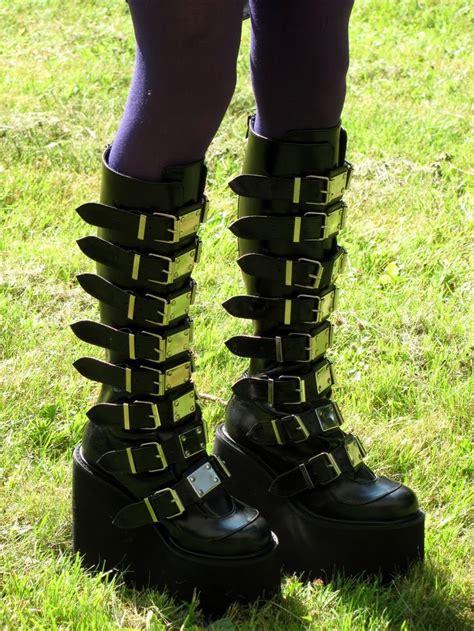 demonia swing boots demonia swing 815 boots favorite footwear pinterest