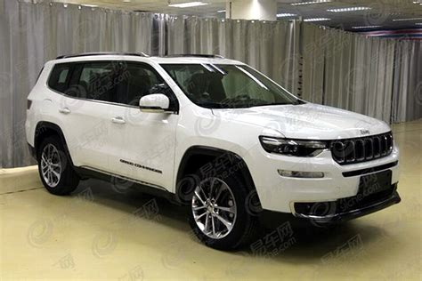2019 jeep 7 passenger new 2018 jeep grand commander 7 seater leaks ahead of