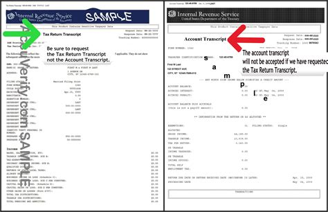 How Does A Tax Transcript Look Like | how does a tax transcript look like