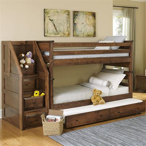 trendwood bunk beds trendwood laguna bunk bed w trundle conlin s