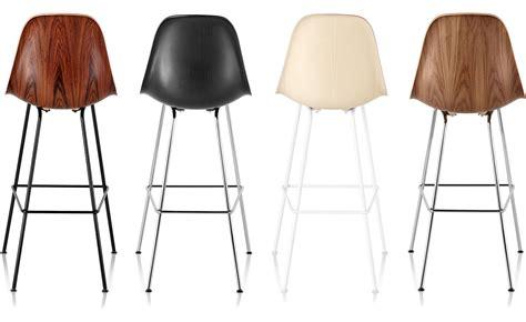 herman miller eames bar stools eames 174 molded wood stool hivemodern
