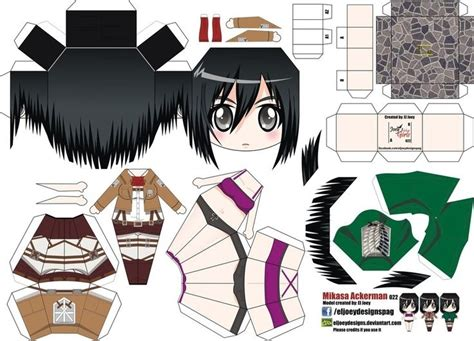 Anime Papercraft Printable - printable paper crafts anime larissanaestrada