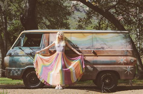 Felisha Rainbow Maxi free kaleidoscope skies 2016 aline weber by tina de